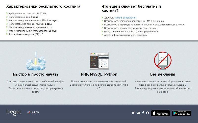 Сайт на своем хостинге minecraft хостинг за 100 рублей