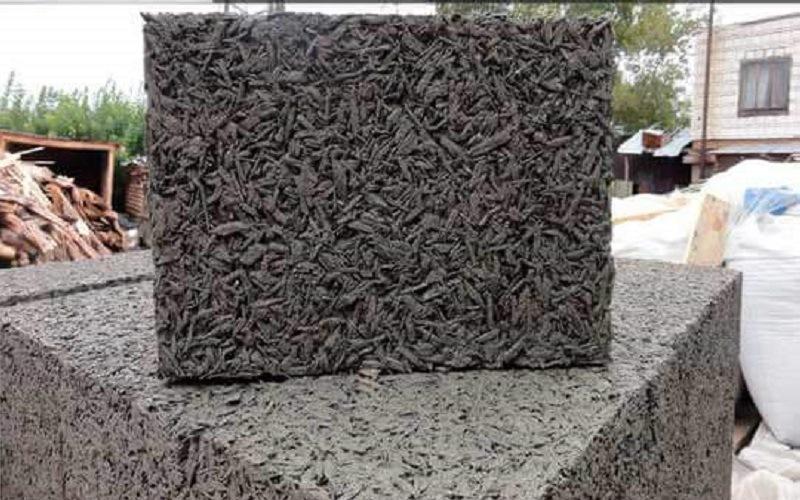 Древесная щепа бетон бетон с волокном